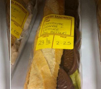 You Can Now Buy A Chocolate Orange Baguette And People Have Mixed Feelings About It