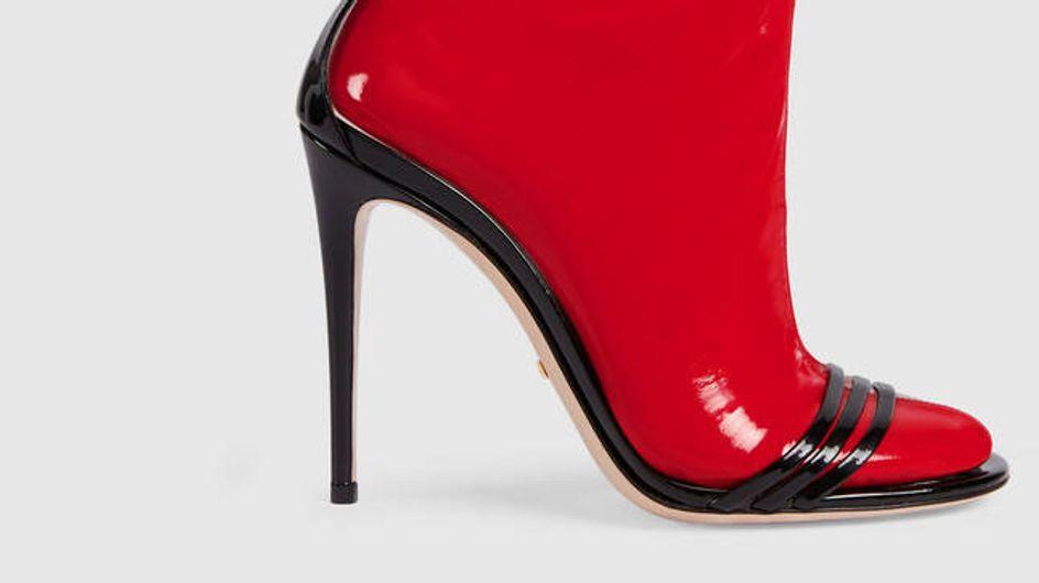 Qui osera adopter la sandale en latex de Gucci ? (Photos)