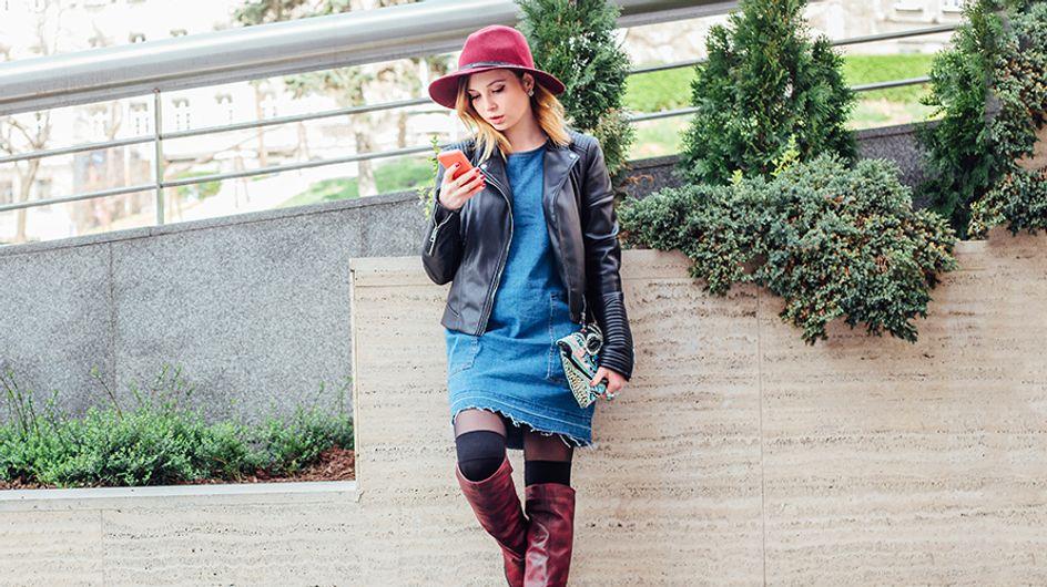 Come indossare gli stivali sopra il ginocchio? Scopri i nostri 6 consigli e i look più belli