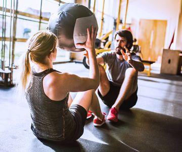 Gemeinsames Fitness-Training macht mehr Spaß als alleine.