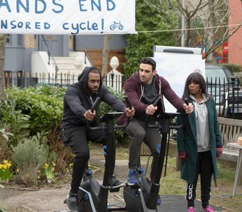 Eastenders 07/04 - It's The Day Of The Sponsored Bike Ride