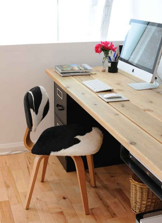 Un bureau bien organisé est un bureau où rien ne traine
