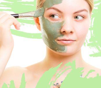 Pour une peau nette, j'adopte l'argile verte !