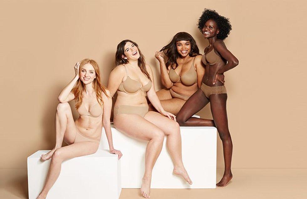 Des sous-vêtements nude pour toutes les couleurs de peau ? On dit merci Target (Photos)