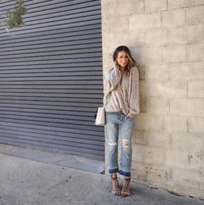 Le Jean boyfriend selon sincerelyJules, la blogueuse mode qu'on adore !