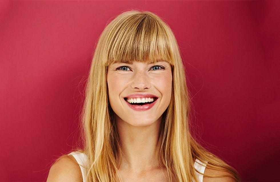 Alessia Marcuzzi sceglie la frangia, uno dei trend capelli ...