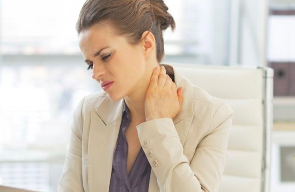 La cervicale ti perseguita? Ecco dieci cose da evitare assolutamente per non soffrirne più