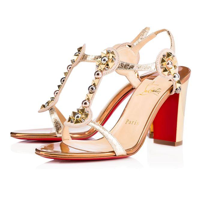 Les sandales Christian Louboutin, 795 euros