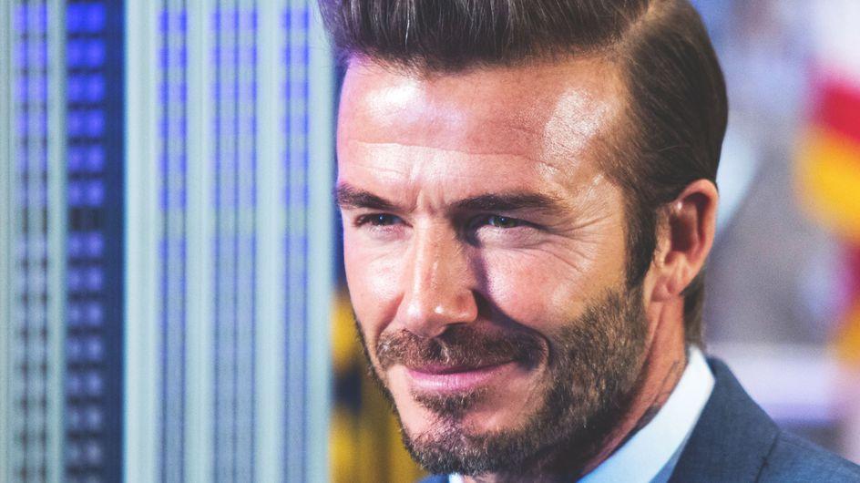 Mais qu'est-il arrivé au visage de David Beckham ? (Photo)