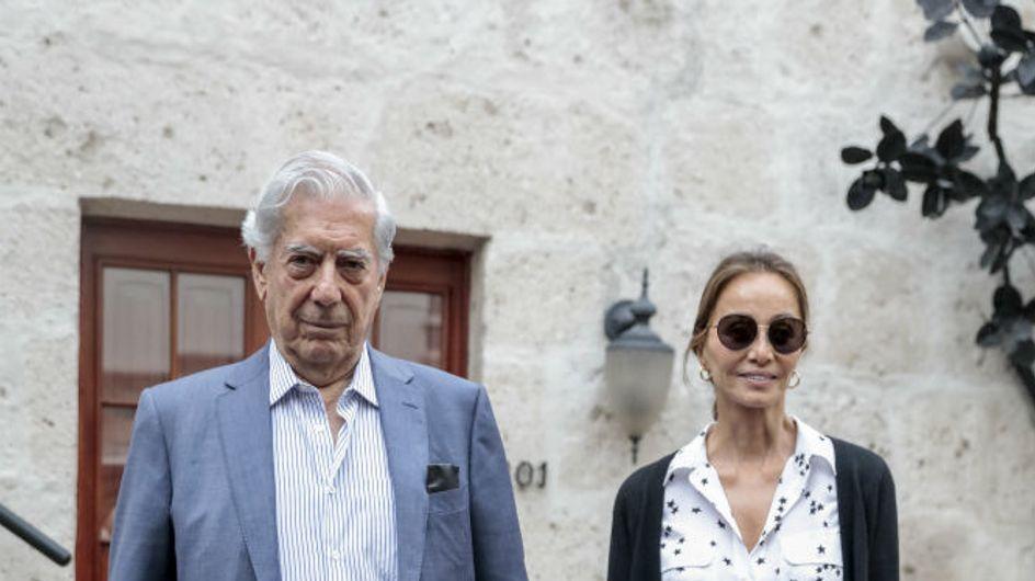 El baño de masas público de Isabel Preysler y Mario Vargas Llosa