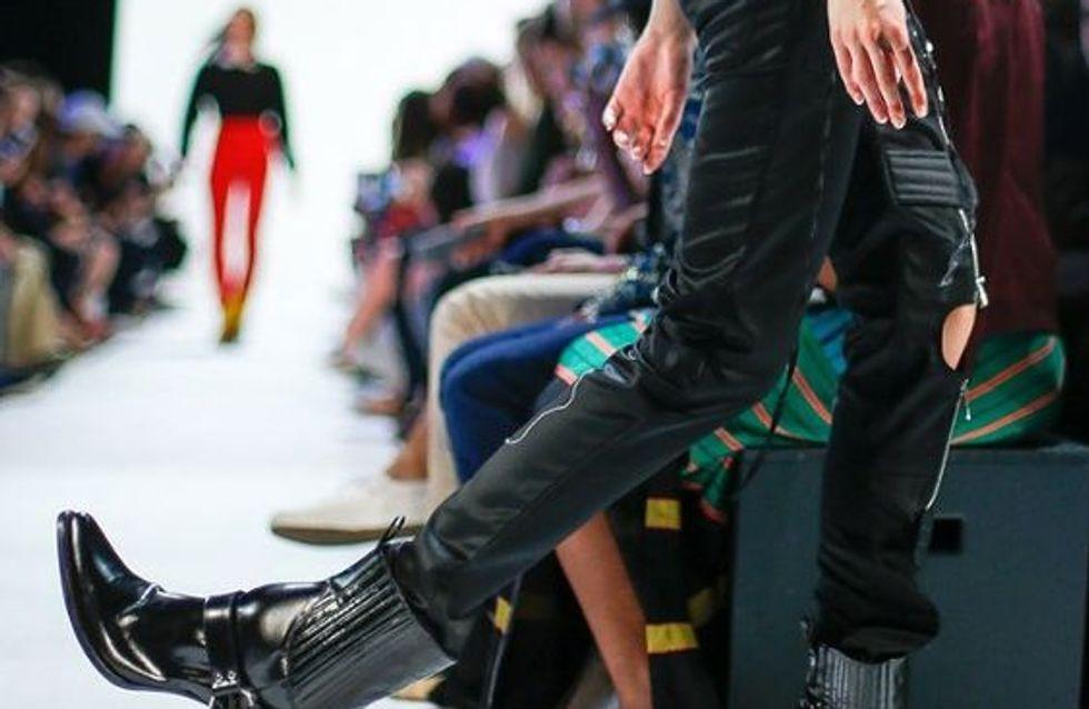 Los zapatos más raros vistos sobre la pasarela