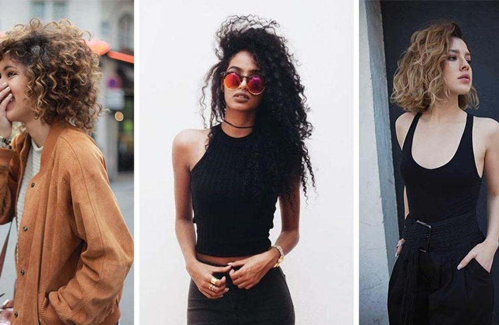 Cute Curls Are Back! Here's How To Rock A Perm