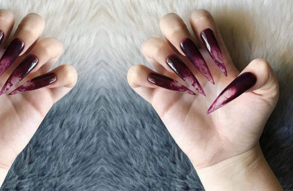 Vampire Fang Nails Are In And They Are Giving Us The Heebie-jeebies