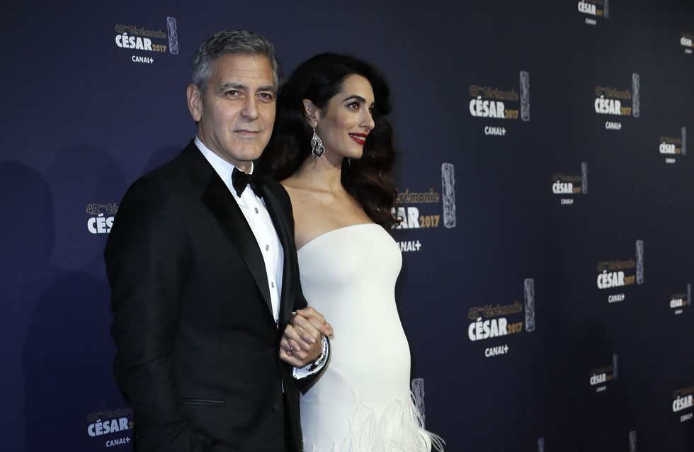 OMG! Verrät Cindy Crawford mit diesem Bild das Geschlecht der Clooney Zwillinge?