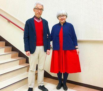 Estamos apaixonadas por este casal de velhinhos que se veste combinando