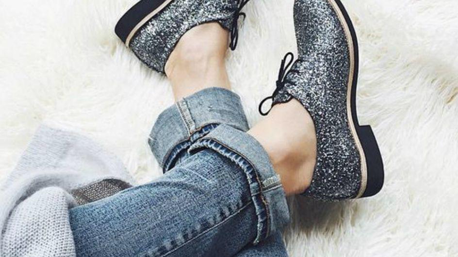Para brilhar até os pés