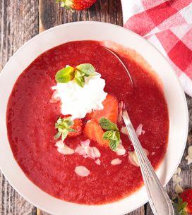 5 soupes froides légères, et aussi gourmandes que faciles