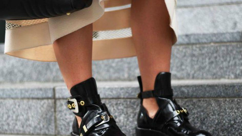 Tendências de calçar: sapatos atuais & originais