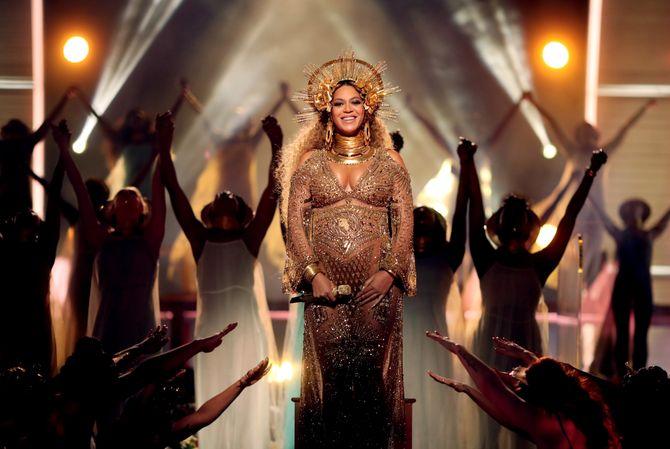 Beyoncé aux Grammy Awards 2017