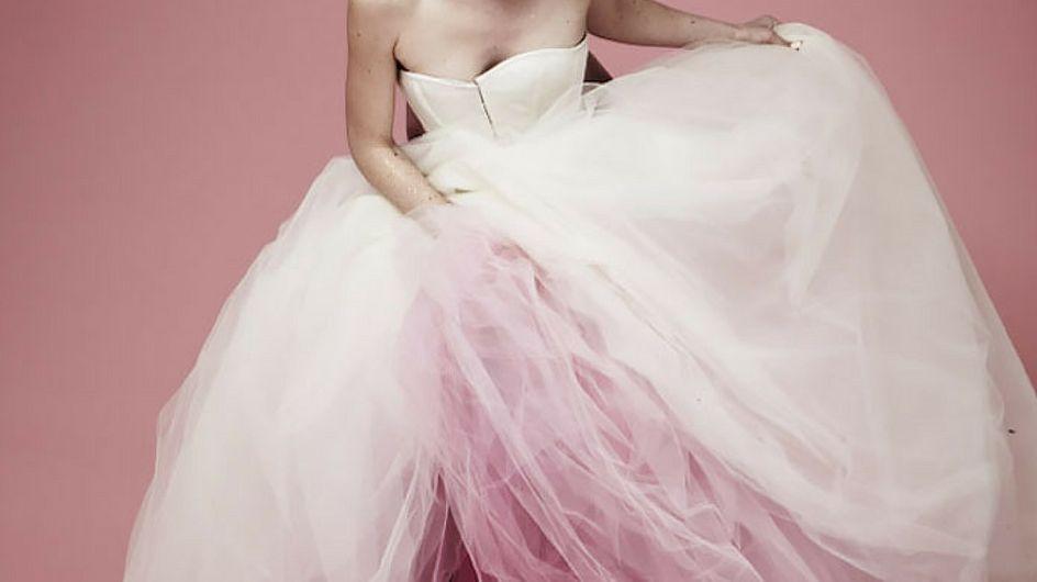 Abiti da sposa dip-dyed: il trend che colora i matrimoni 2017!