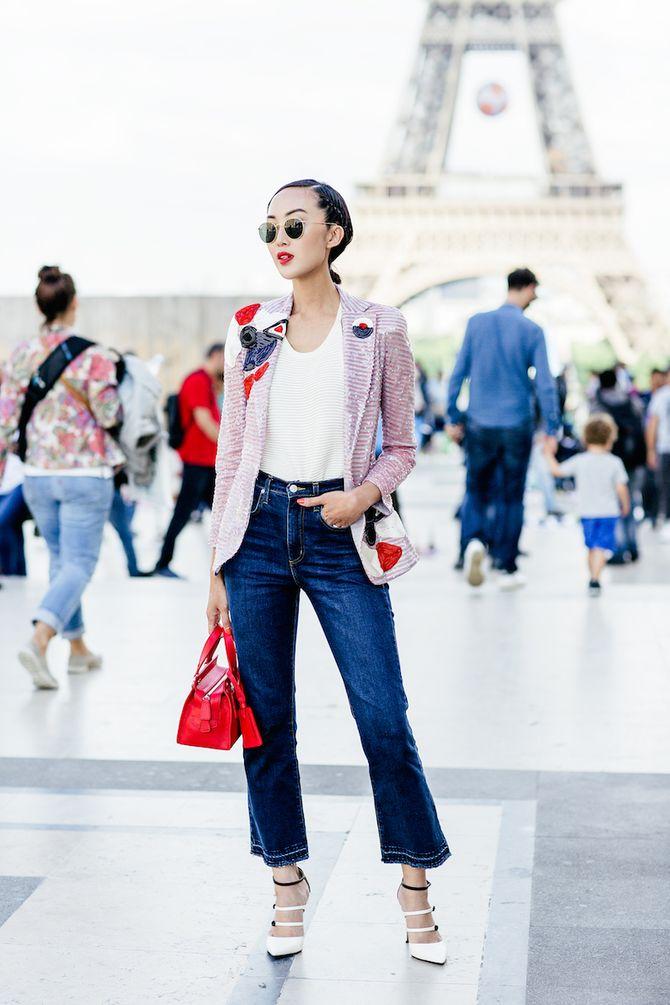 Blazer kombinieren: Trendy mit Jeans und Sandaletten