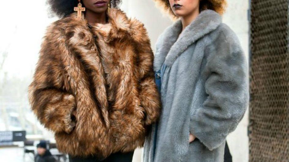 Fique quentinha neste inverno com +30 casacos de pele fake