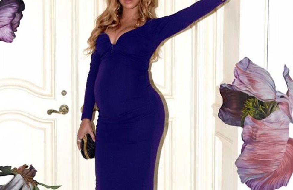 Le dernier look de Beyoncé pourrait bien dévoiler le sexe de ses jumeaux... (Photos)