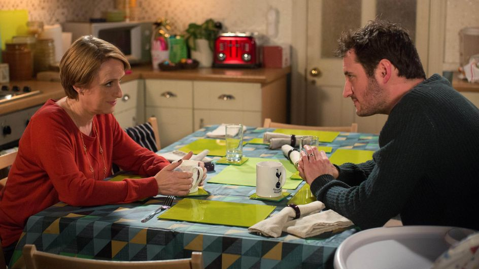 Eastenders 14/04 - Stacey, Martin And Michelle Have Dinner - Can Martin Stay Civil?