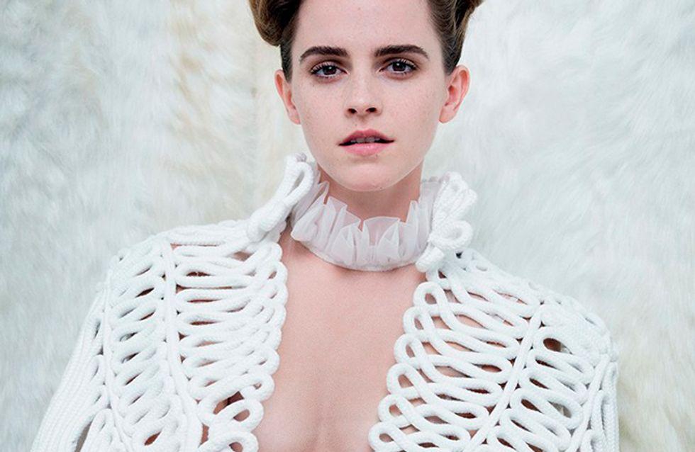 Emma Watson conta que já quis parar de atuar por causa da fama