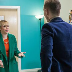 Hollyoaks 10/04 - Nancy Bumps Into An Ex At Her MS Support Group