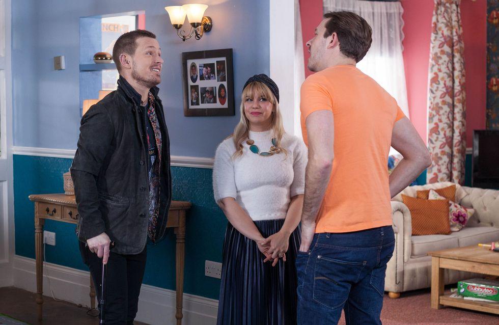 Hollyoaks 12/04 - Nancy Lies To Darren About Kyle