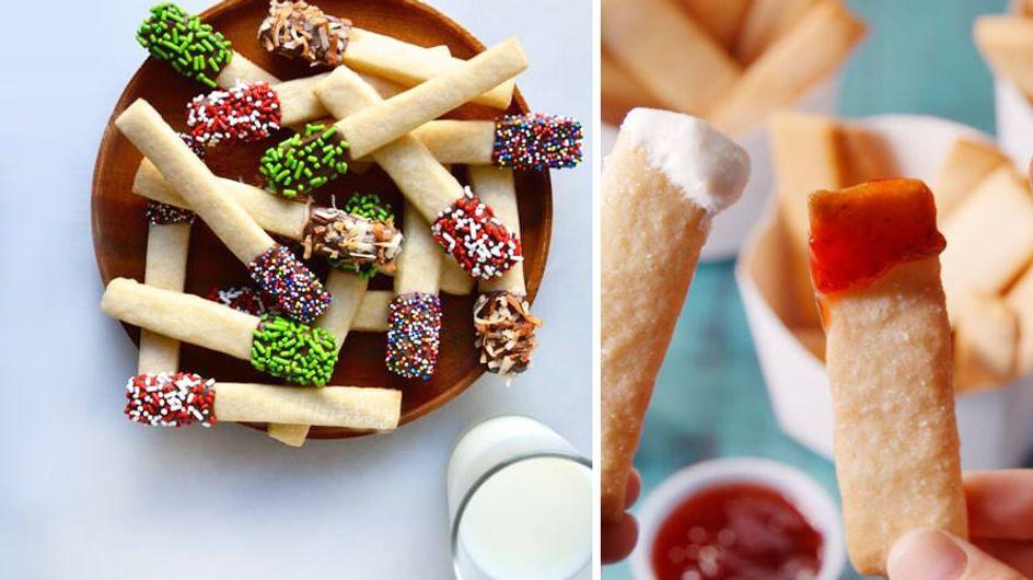 Süßer Party-Snack: So einfach machst du Cookie Fries selber!