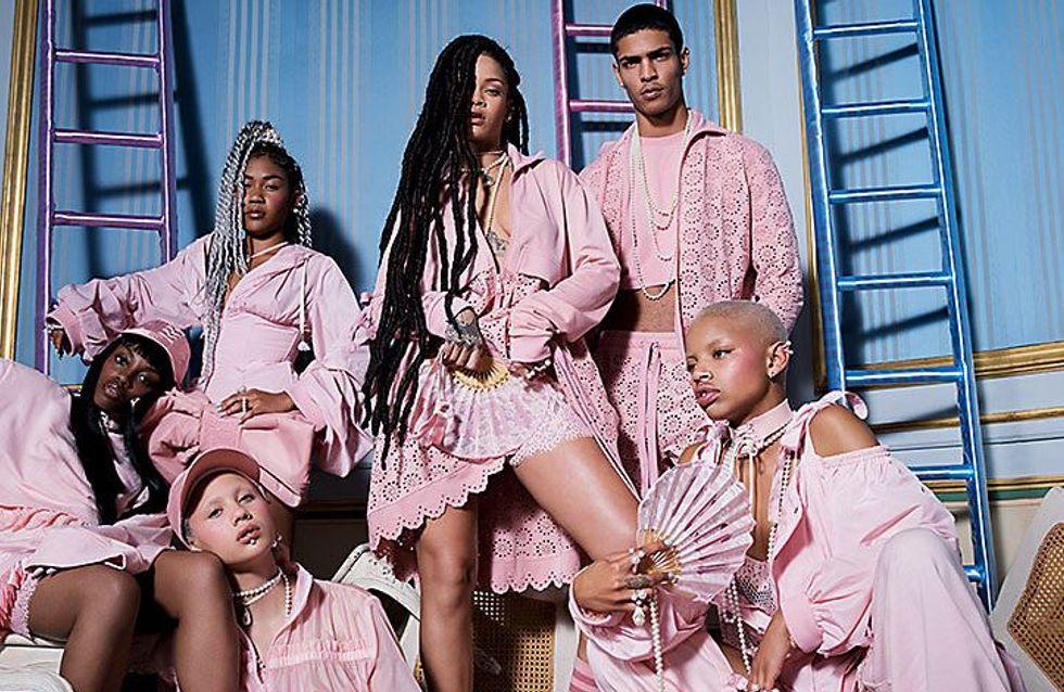 Donc Fenty, alias Rihanna x Puma, lance une collection inspirée de Marie-Antoinette ! (Photos)