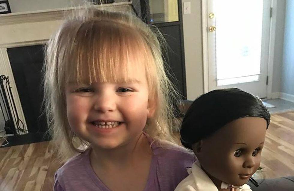 A deux ans, elle donne une très belle leçon de tolérance