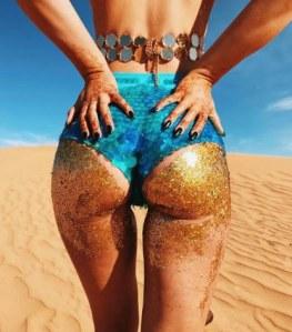 Glitter-Butts