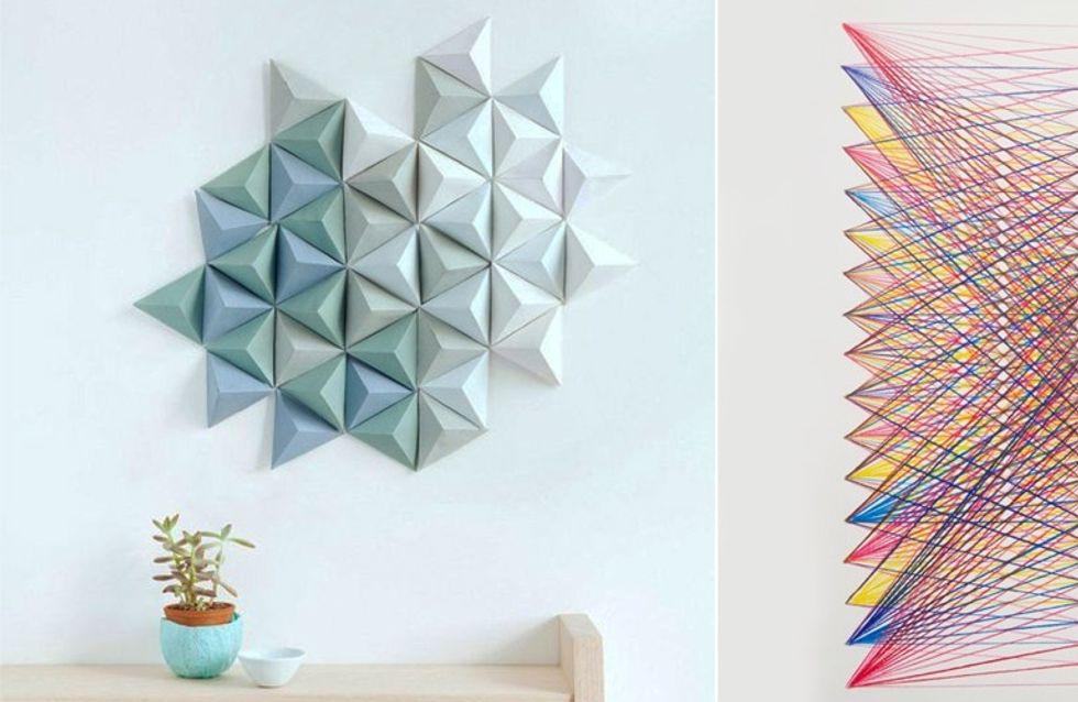 5 DIY ultra simples pour habiller vos murs
