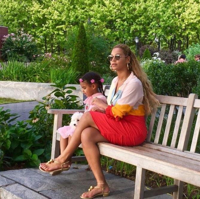 Blue Ivy et Beyoncé