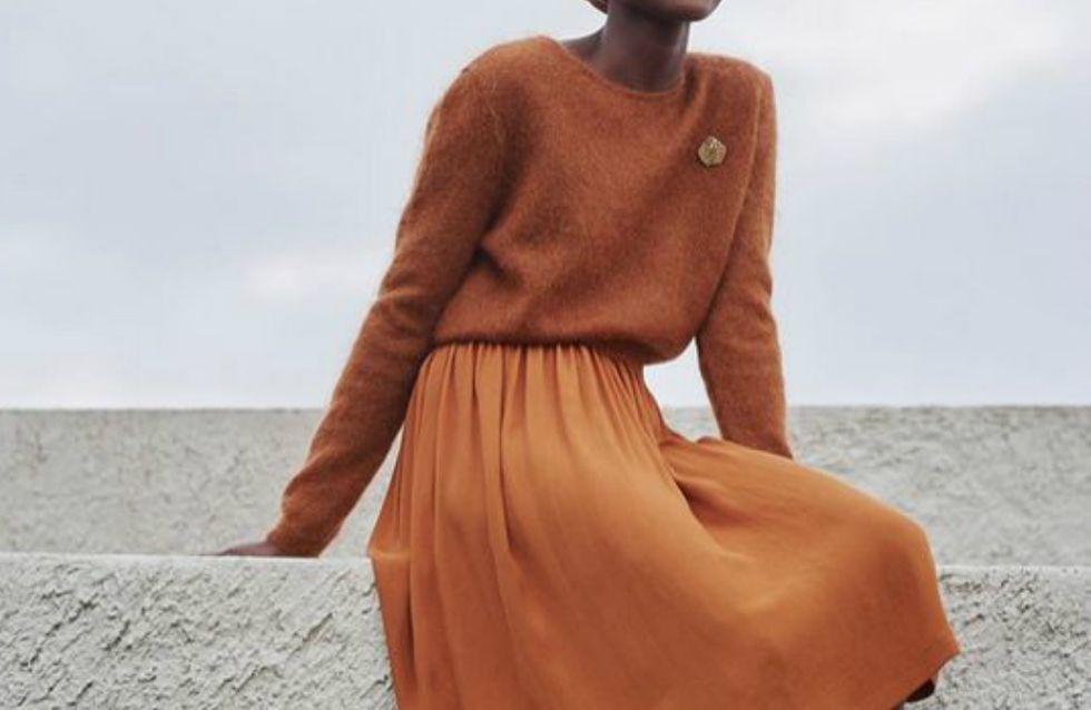 A moda está da cor da terra