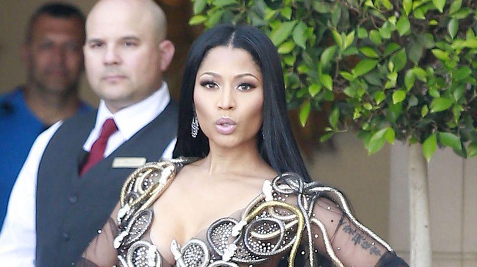 Nicki Minaj y su estilo esotérico, peor look de la semana