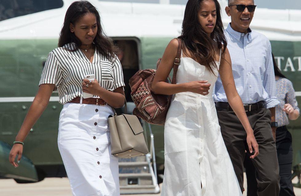 Malia et Sasha Obama, des ados stylées à suivre de très près (Photos)