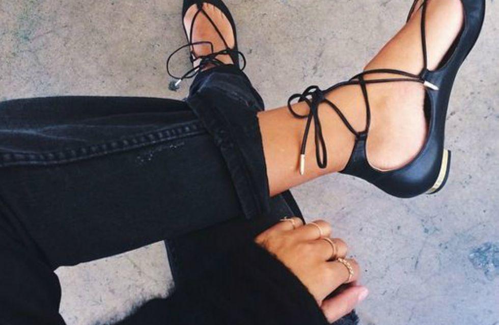 Vá de lace-up shoes e adicione graça ao visual de todos os dias