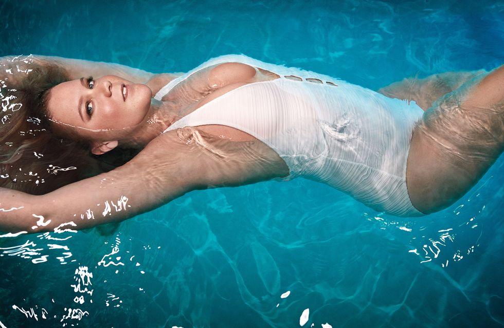 Amy Schumer, insultée pour avoir posé en maillot de bain (photos)