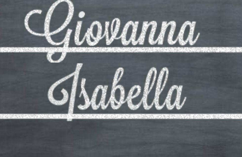 Nomes italianos para bebês