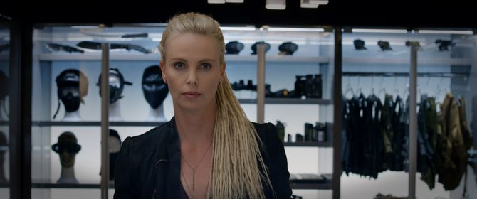 Charlize Theron dans Fast @ Furious 8