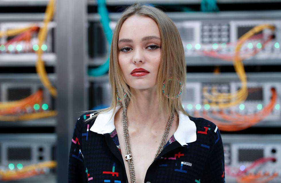Lily-Rose Depp lance LA tendance beauté de l'été (Photos)