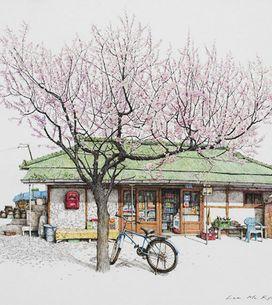 Artista passa 20 anos desenhando mercadinhos da Coreia