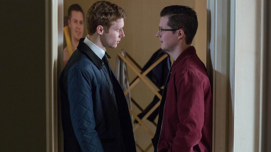 Eastenders 10/04 - Jay Isn't Thrilled At The Prospect Of Living With Donna