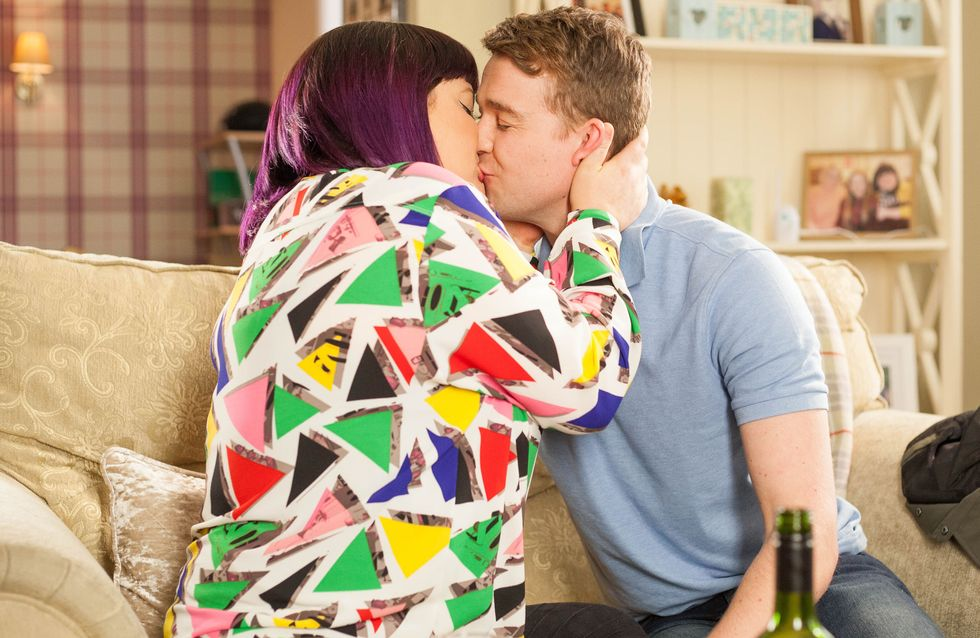 Hollyoaks 19/04 - Nick Kisses Teagan