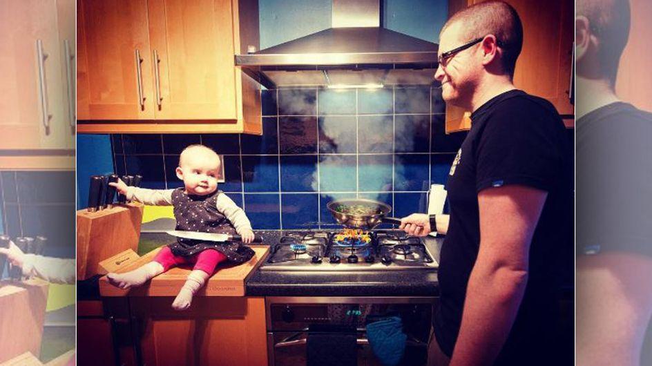 Baby in Gefahr? Dieser Vater zeigt seine Tochter in waghalsigen Situationen - DAS steckt wirklich dahinter