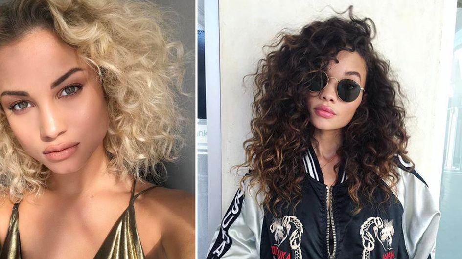 Endlich sexy Curls! SO verwandelst du deine Natur-Krause in eine wunderschöne Lockenpracht